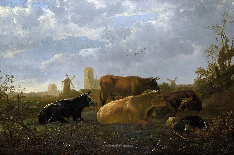 17世纪荷兰黄金时期杰出的风景画家,阿尔伯特·库普插图9