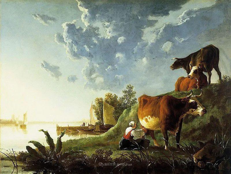 17世纪荷兰黄金时期杰出的风景画家,阿尔伯特·库普插图13
