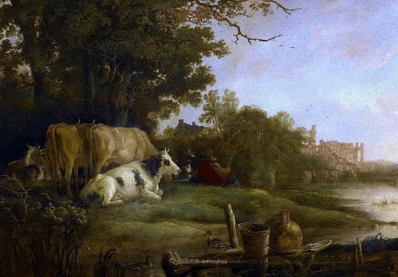 17世纪荷兰黄金时期杰出的风景画家,阿尔伯特·库普插图15