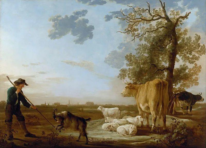 17世纪荷兰黄金时期杰出的风景画家,阿尔伯特·库普插图19