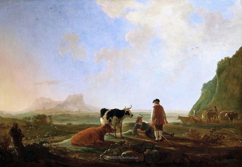 17世纪荷兰黄金时期杰出的风景画家,阿尔伯特·库普插图21