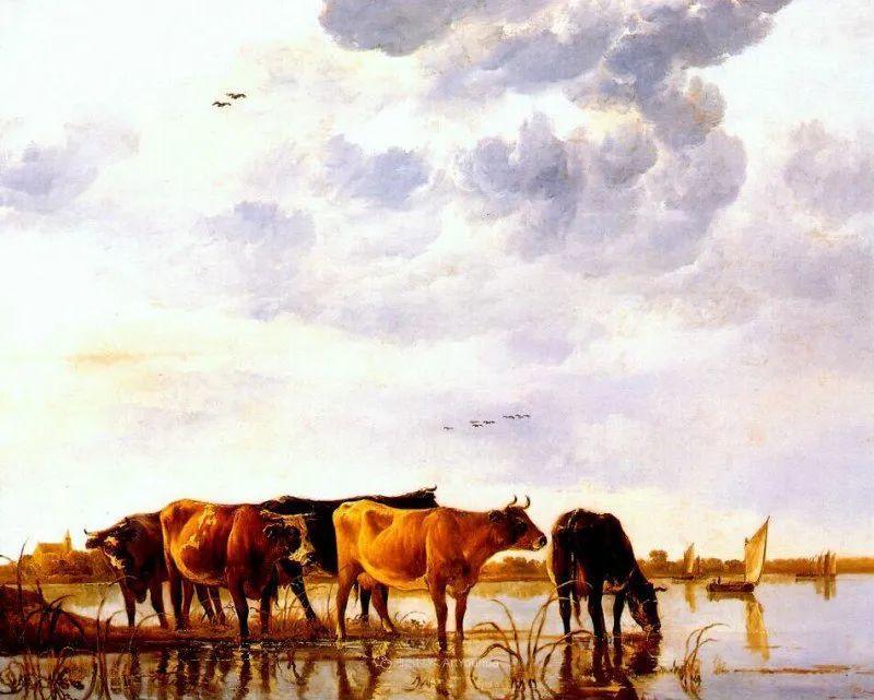 17世纪荷兰黄金时期杰出的风景画家,阿尔伯特·库普插图27