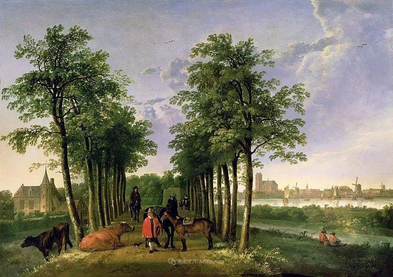 17世纪荷兰黄金时期杰出的风景画家,阿尔伯特·库普插图29