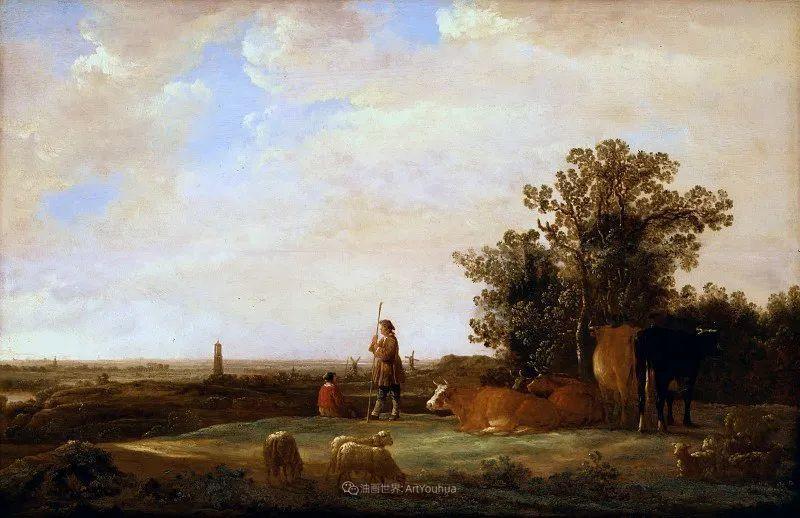 17世纪荷兰黄金时期杰出的风景画家,阿尔伯特·库普插图33