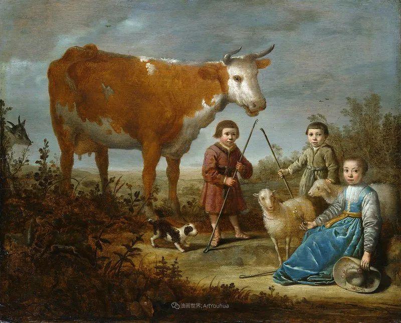 17世纪荷兰黄金时期杰出的风景画家,阿尔伯特·库普插图39