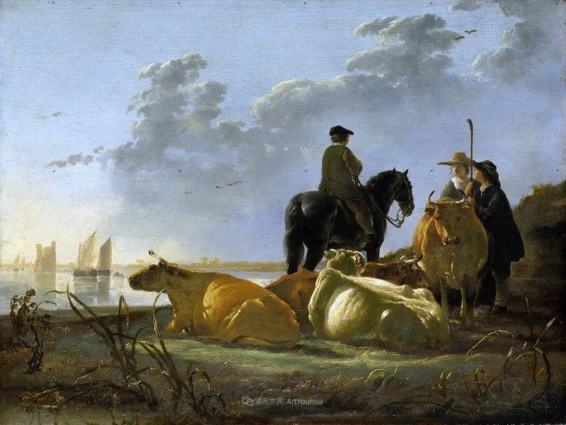 17世纪荷兰黄金时期杰出的风景画家,阿尔伯特·库普插图41