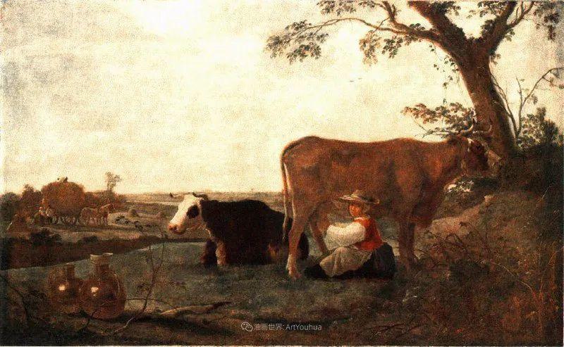 17世纪荷兰黄金时期杰出的风景画家,阿尔伯特·库普插图45