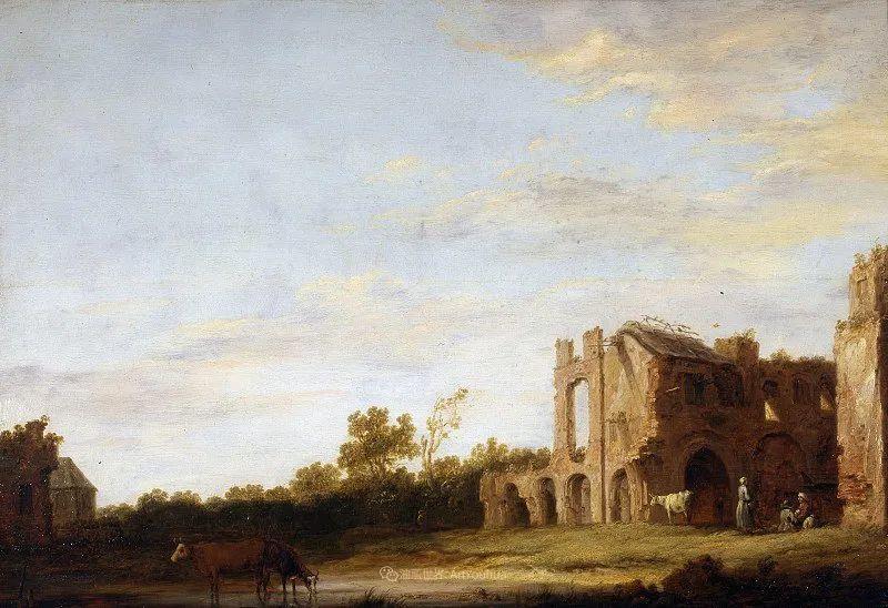 17世纪荷兰黄金时期杰出的风景画家,阿尔伯特·库普插图49
