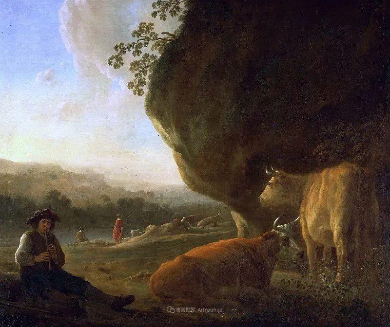 17世纪荷兰黄金时期杰出的风景画家,阿尔伯特·库普插图51