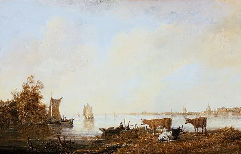17世纪荷兰黄金时期杰出的风景画家,阿尔伯特·库普插图55