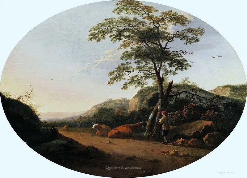 17世纪荷兰黄金时期杰出的风景画家,阿尔伯特·库普插图57