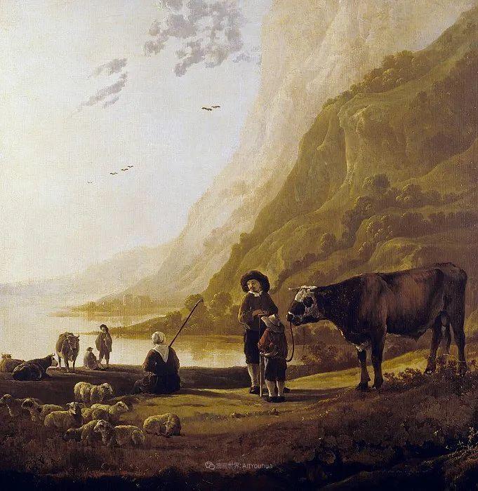 17世纪荷兰黄金时期杰出的风景画家,阿尔伯特·库普插图59