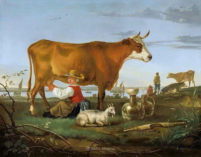17世纪荷兰黄金时期杰出的风景画家,阿尔伯特·库普插图61