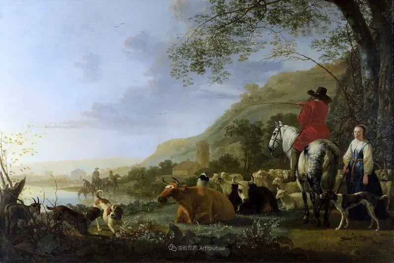 17世纪荷兰黄金时期杰出的风景画家,阿尔伯特·库普插图65