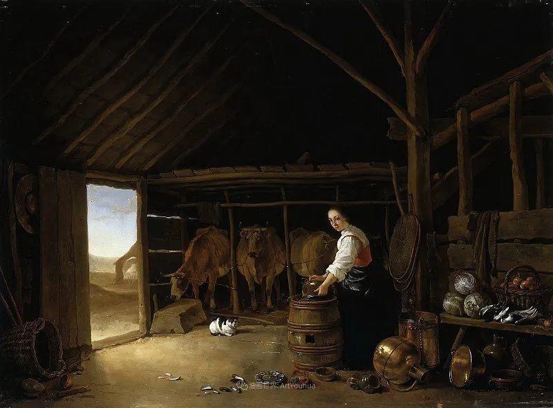 17世纪荷兰黄金时期杰出的风景画家,阿尔伯特·库普插图67