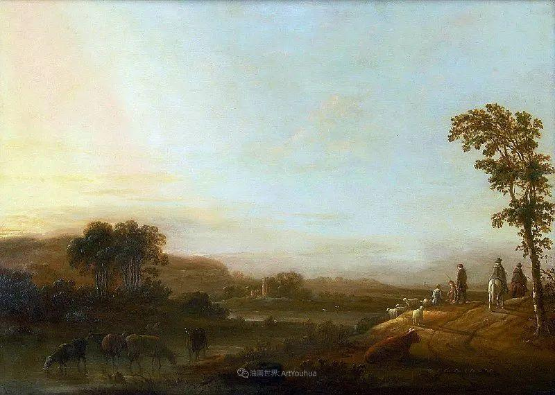 17世纪荷兰黄金时期杰出的风景画家,阿尔伯特·库普插图71