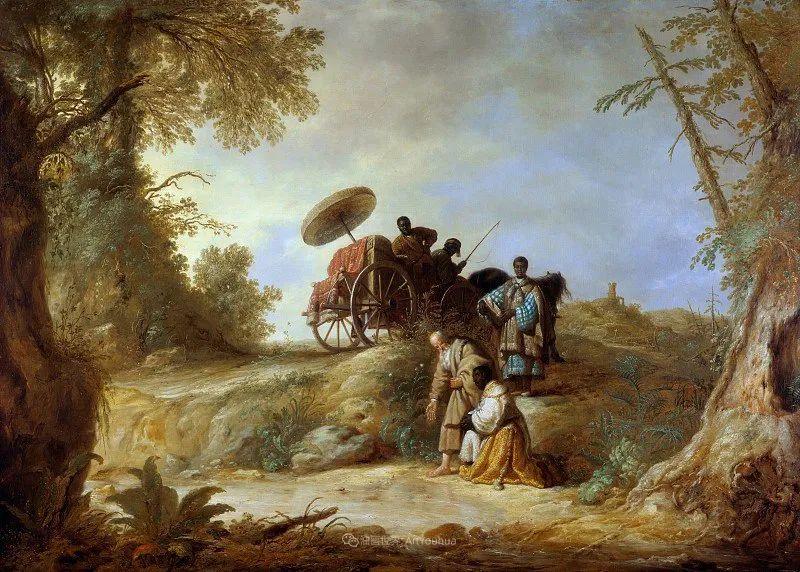 17世纪荷兰黄金时期杰出的风景画家,阿尔伯特·库普插图73