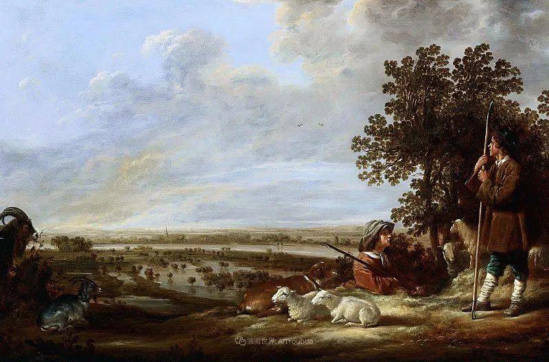 17世纪荷兰黄金时期杰出的风景画家,阿尔伯特·库普插图75