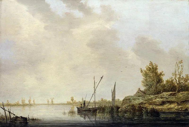 17世纪荷兰黄金时期杰出的风景画家,阿尔伯特·库普插图81