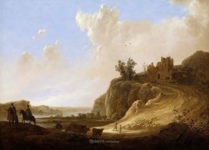 17世纪荷兰黄金时期杰出的风景画家,阿尔伯特·库普插图89