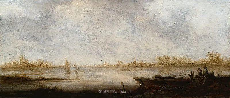 17世纪荷兰黄金时期杰出的风景画家,阿尔伯特·库普插图93