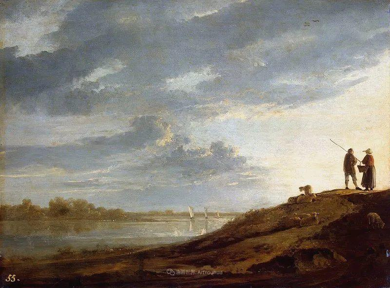 17世纪荷兰黄金时期杰出的风景画家,阿尔伯特·库普插图95