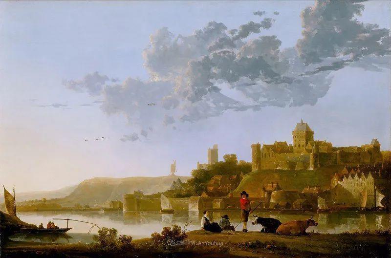 17世纪荷兰黄金时期杰出的风景画家,阿尔伯特·库普插图97