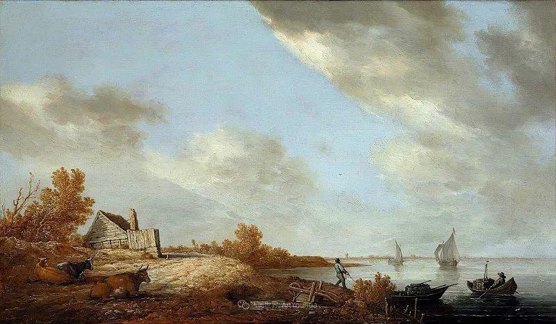 17世纪荷兰黄金时期杰出的风景画家,阿尔伯特·库普插图107