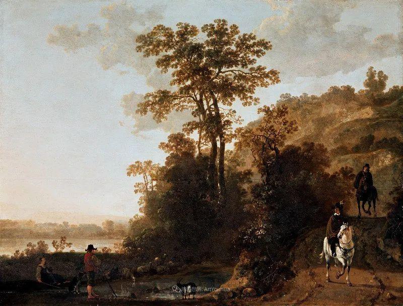 17世纪荷兰黄金时期杰出的风景画家,阿尔伯特·库普插图109