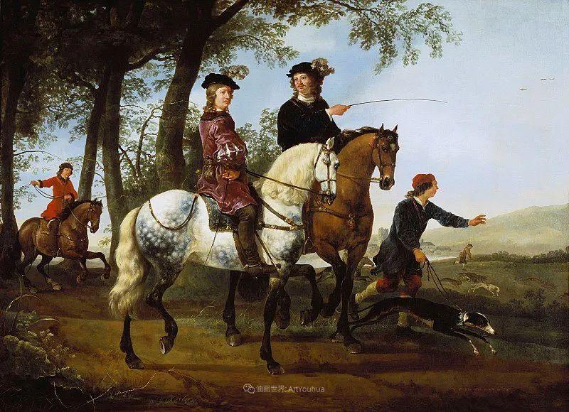 17世纪荷兰黄金时期杰出的风景画家,阿尔伯特·库普插图111