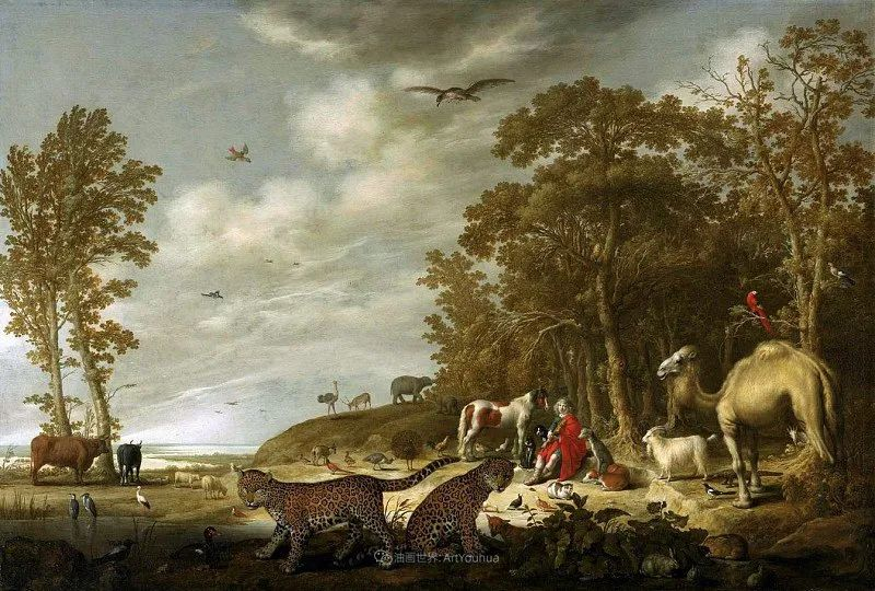 17世纪荷兰黄金时期杰出的风景画家,阿尔伯特·库普插图113