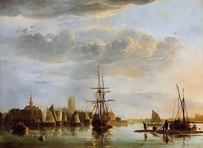 17世纪荷兰黄金时期杰出的风景画家,阿尔伯特·库普插图115