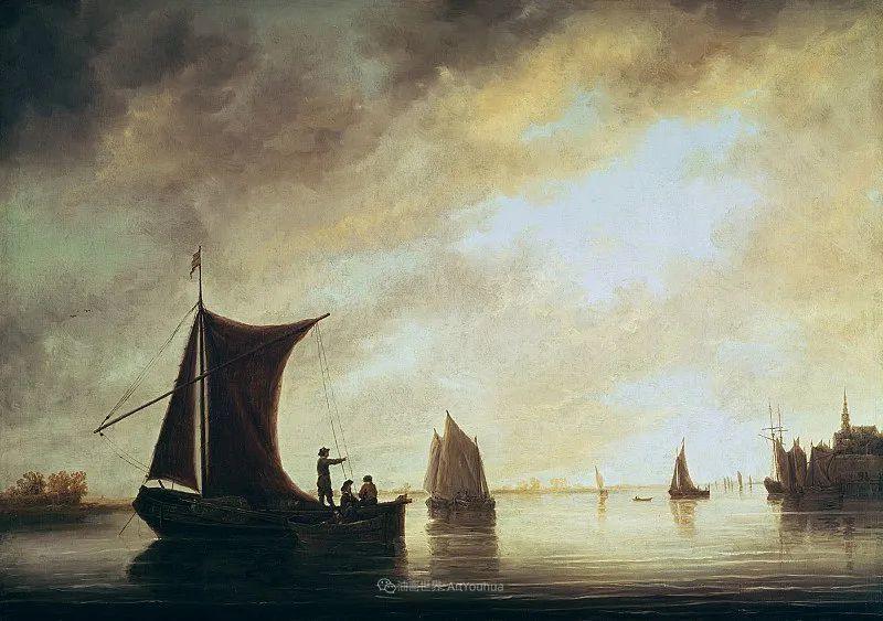 17世纪荷兰黄金时期杰出的风景画家,阿尔伯特·库普插图117