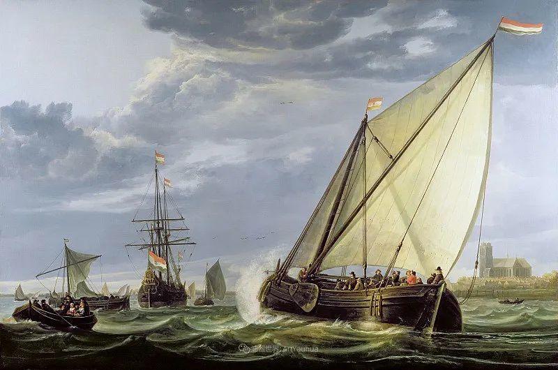 17世纪荷兰黄金时期杰出的风景画家,阿尔伯特·库普插图121