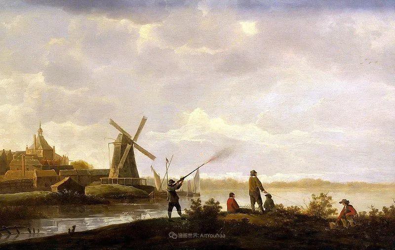 17世纪荷兰黄金时期杰出的风景画家,阿尔伯特·库普插图123