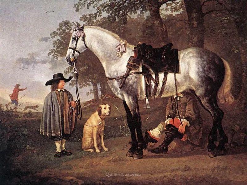 17世纪荷兰黄金时期杰出的风景画家,阿尔伯特·库普插图127