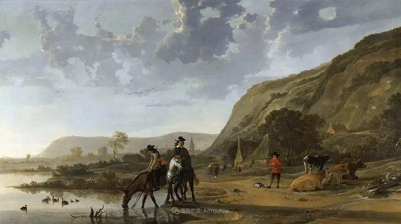 17世纪荷兰黄金时期杰出的风景画家,阿尔伯特·库普插图129