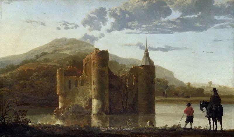 17世纪荷兰黄金时期杰出的风景画家,阿尔伯特·库普插图137