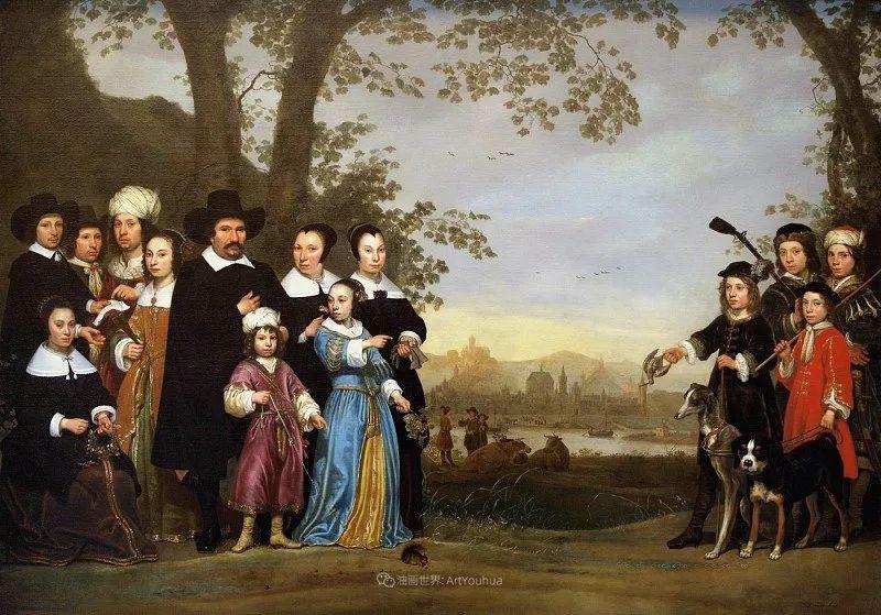 17世纪荷兰黄金时期杰出的风景画家,阿尔伯特·库普插图143