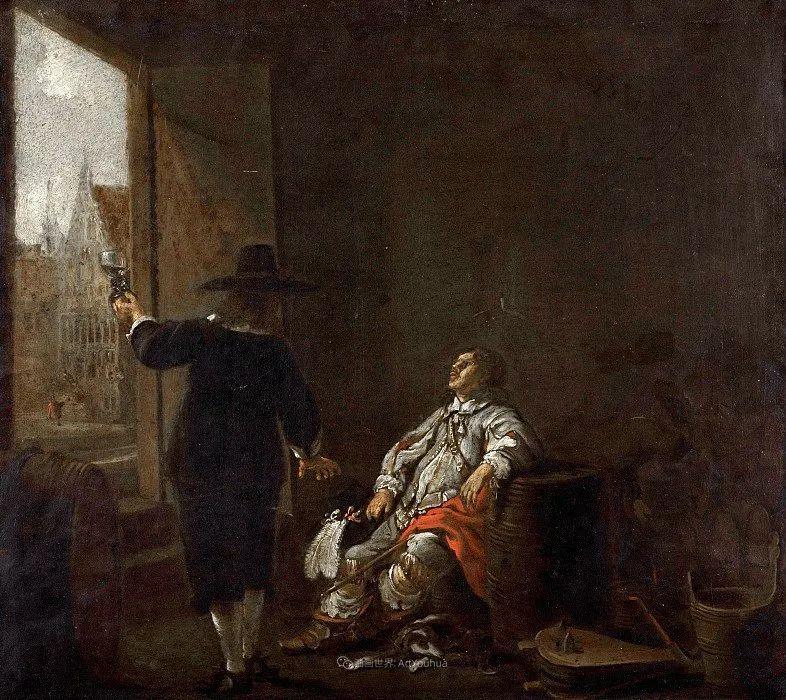 17世纪荷兰黄金时期杰出的风景画家,阿尔伯特·库普插图145