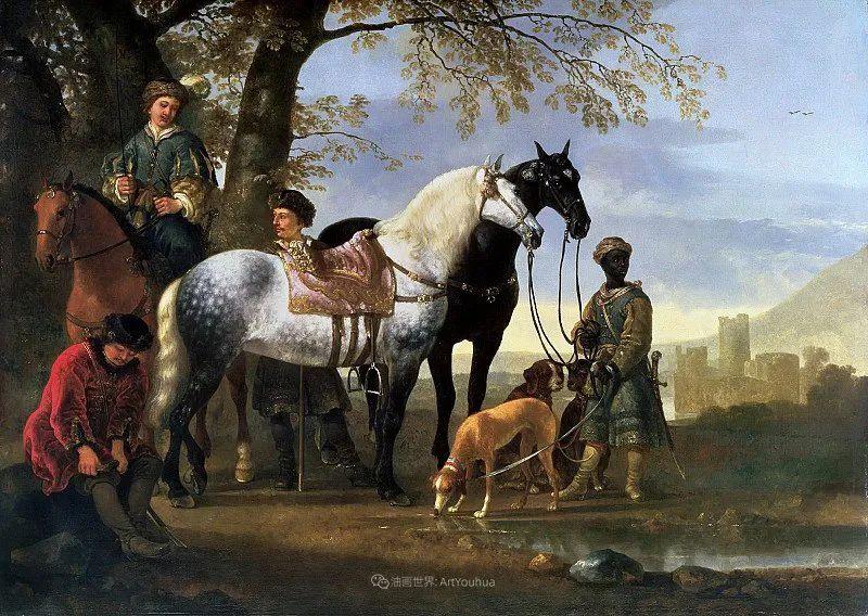 17世纪荷兰黄金时期杰出的风景画家,阿尔伯特·库普插图153