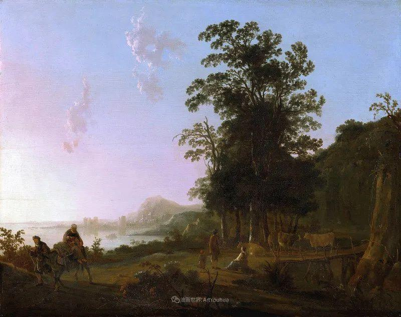 17世纪荷兰黄金时期杰出的风景画家,阿尔伯特·库普插图171