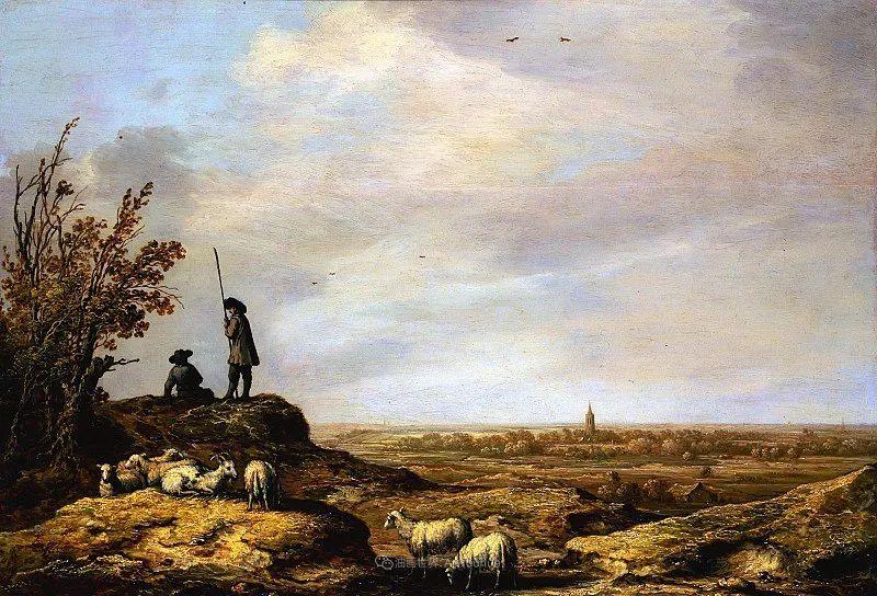 17世纪荷兰黄金时期杰出的风景画家,阿尔伯特·库普插图173