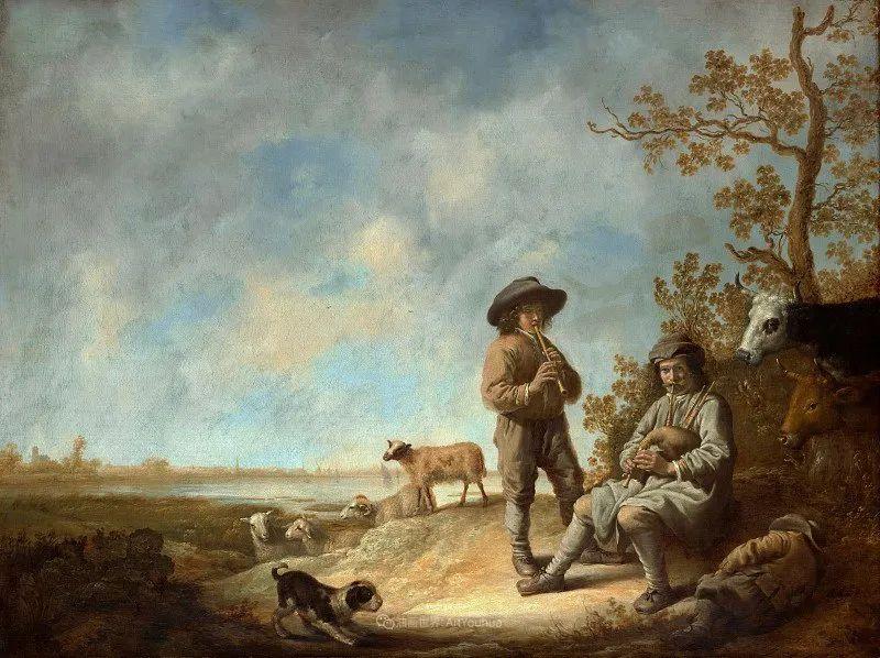 17世纪荷兰黄金时期杰出的风景画家,阿尔伯特·库普插图175