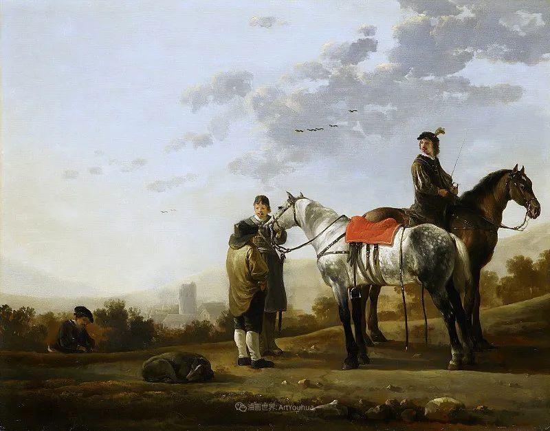 17世纪荷兰黄金时期杰出的风景画家,阿尔伯特·库普插图177