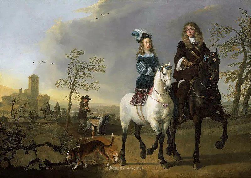 17世纪荷兰黄金时期杰出的风景画家,阿尔伯特·库普插图179