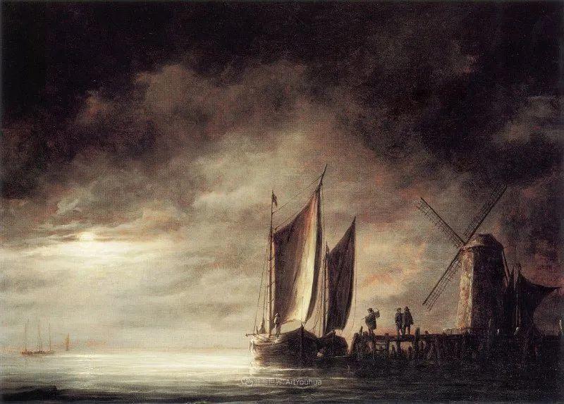 17世纪荷兰黄金时期杰出的风景画家,阿尔伯特·库普插图181