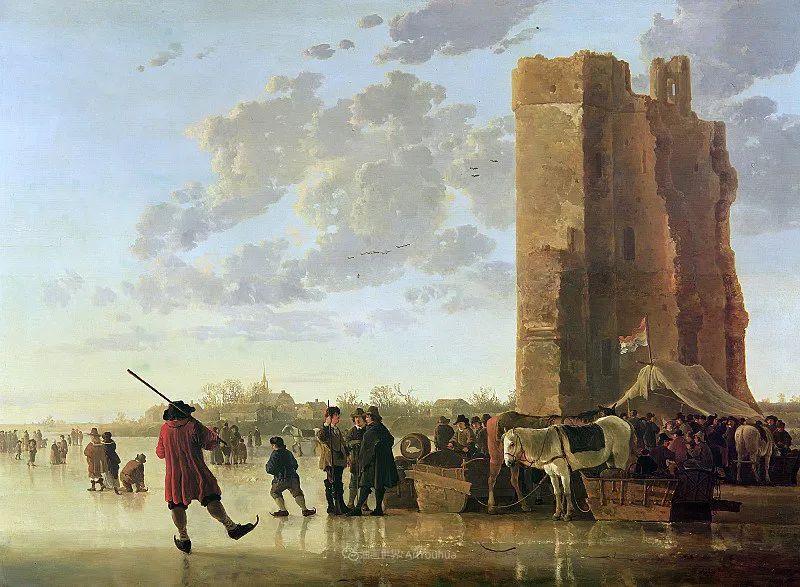 17世纪荷兰黄金时期杰出的风景画家,阿尔伯特·库普插图185