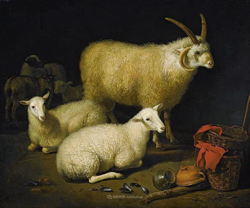 17世纪荷兰黄金时期杰出的风景画家,阿尔伯特·库普插图187