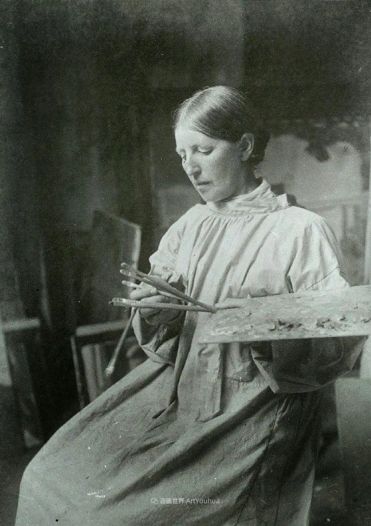 她被印在丹麦最大面值钞票1000克朗上,是丹麦最伟大的艺术家之一插图25